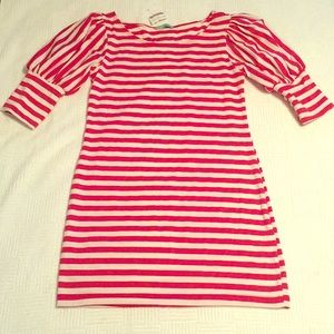 Queen Esther Candy Cane Striped Dress NWT